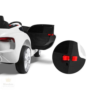 Maserati Sports Kids Electric Ride On Car - 3 Colours (Manual + Remote Control)