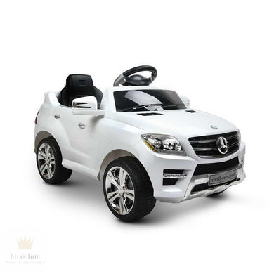 M-Class Mercedes-Benz ML350 Kids Electric Ride on Car (Manual + Remote Control)