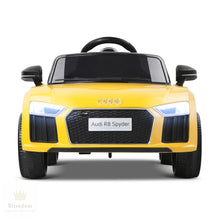Audi R8 Kids Electric Ride on Car - 2 Colours (Manual + Remote Control)
