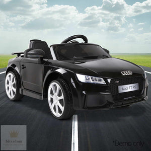 Audi TT RS Roadster Kids Electric Ride on Car (Manual + Remote Control)