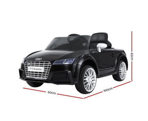 Audi TT S Roadster Licensed Kids Ride on Electric Car (2 colours, Manual + Remote Control)