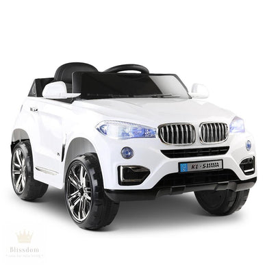 BMW X5 Kids Electric Ride on Car - 2 Colours (Manual + Remote Control)