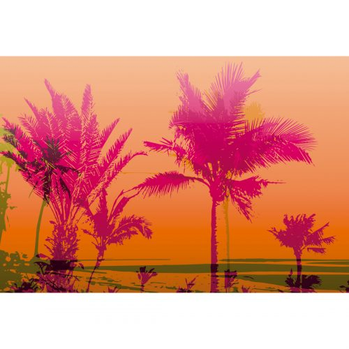 Retro Palms Canvas (4 Sizes)