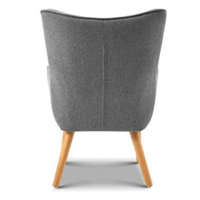 Adel Armchair + Ottoman (2 Colours)