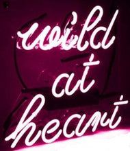 Wild at Heart Neon Light