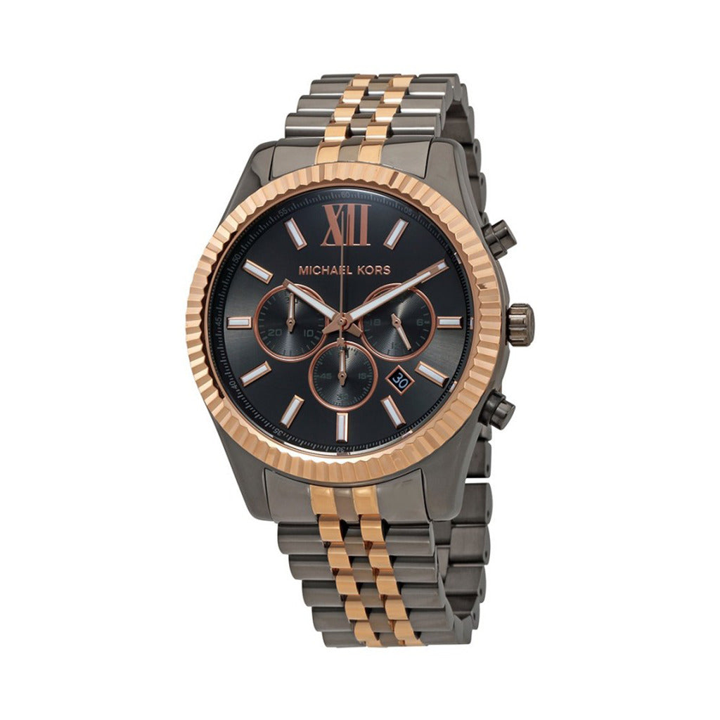 Michael Kors Unisex Lexington Two-Tone Watch