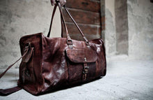 Fara Leather Duffel Bag