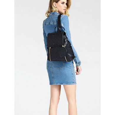 Guess Janelle Embossed Logo Backpack