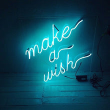 Make a Wish Neon Light