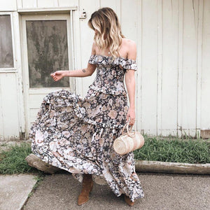 Brazen Blooms Dress
