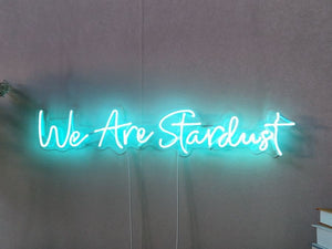 We Are Stardust Neon Sign
