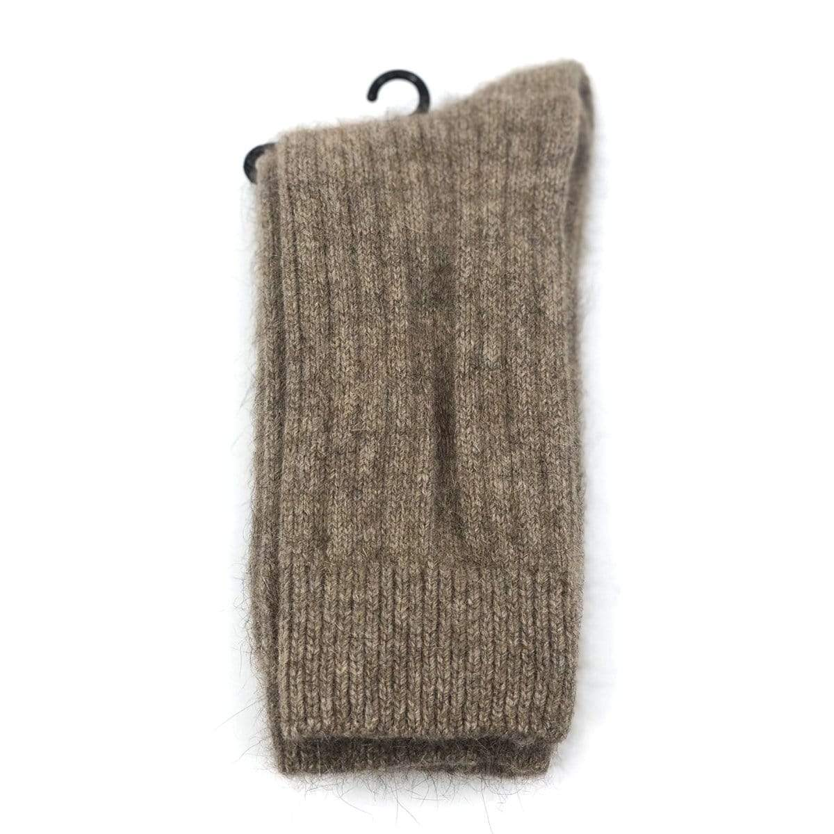 Premium Possum and Merino Wool Ribbed Socks