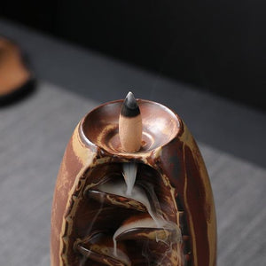 (OVER $39 Free Shipping Today) Mountain River Handicraft Incense Holder