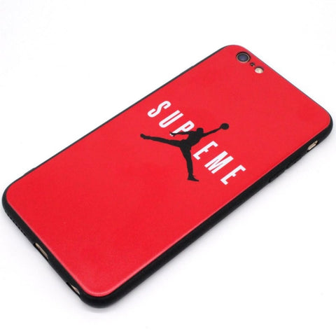 coque iphone xr supreme rouge
