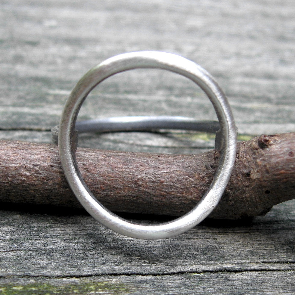 Sterling silver bubble ring / silver circle ring / oval ring / gift for her / minimalist ring / modern ring / boho ring / jewelry sale