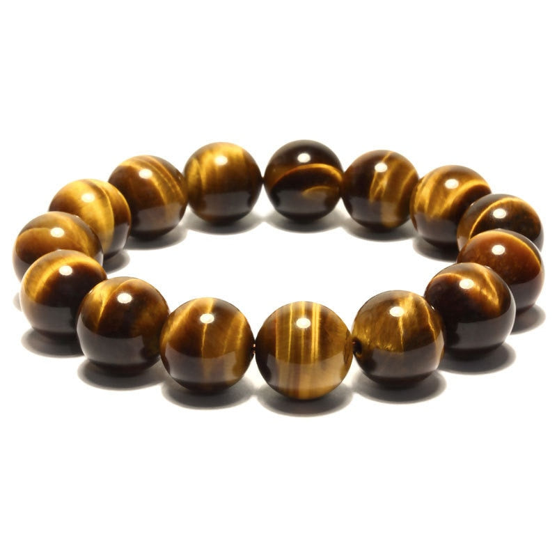 6-18mm Natural Stone Bracelets Round Beads Tiger's eye Stone Bracelet,Hot Products ,Fine Wholesale Jewelry For Women and Man