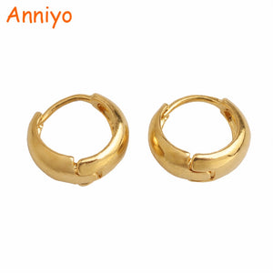SMALL Earring for Girl/Baby,Trendy Gold Color Jewelry of Child Birthd Gifts #006116