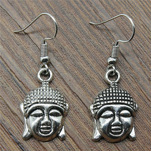 Buddha Drop Earrings Fashion Buddha Earrings Danging Buddha Earrings For Women Jewelry Dropshipping