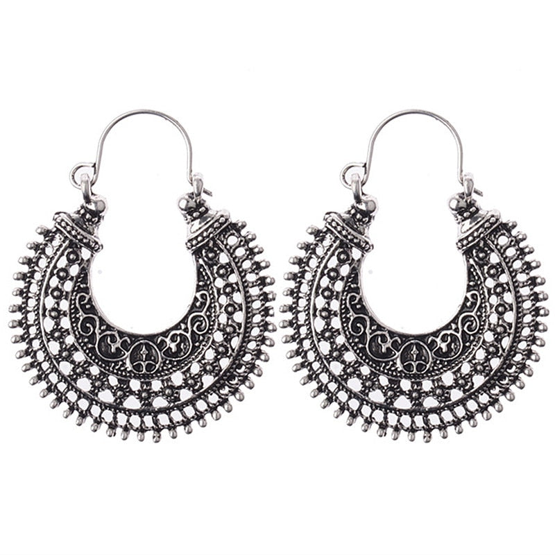 ES401 Ethnic Drop Earring Vintage Women Bohemia Dangle Earrings Summer Beach Brincos Bijoux boucle d'oreille Fashion Jewelry