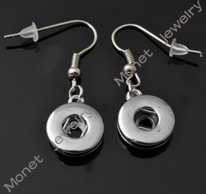 F00015 OEM ,O welcome newest BUTTON earring fit small 12mm button