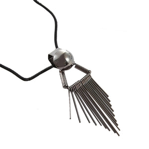 New Temperament Tassel Decorative Necklace Simple Pendant Tassel Sweater Chain Long Necklace Fashion Necklace For Women