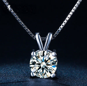 New StereoTransparent stealth necklace Crystal From Swarovski Locks Chain Zircon Necklace Valentine Gift