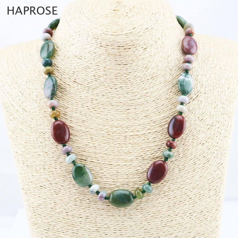 Party agate necklace fashion boutique jewelry agate necklace multicolor round agate beads sequins necklace girlfriend gift