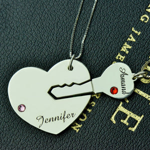 Personalized Infinity Pendants Custom Name Necklaces 925 Sterling Silver Lover Charm Jewelry Valentine's D Gift DIY 0073