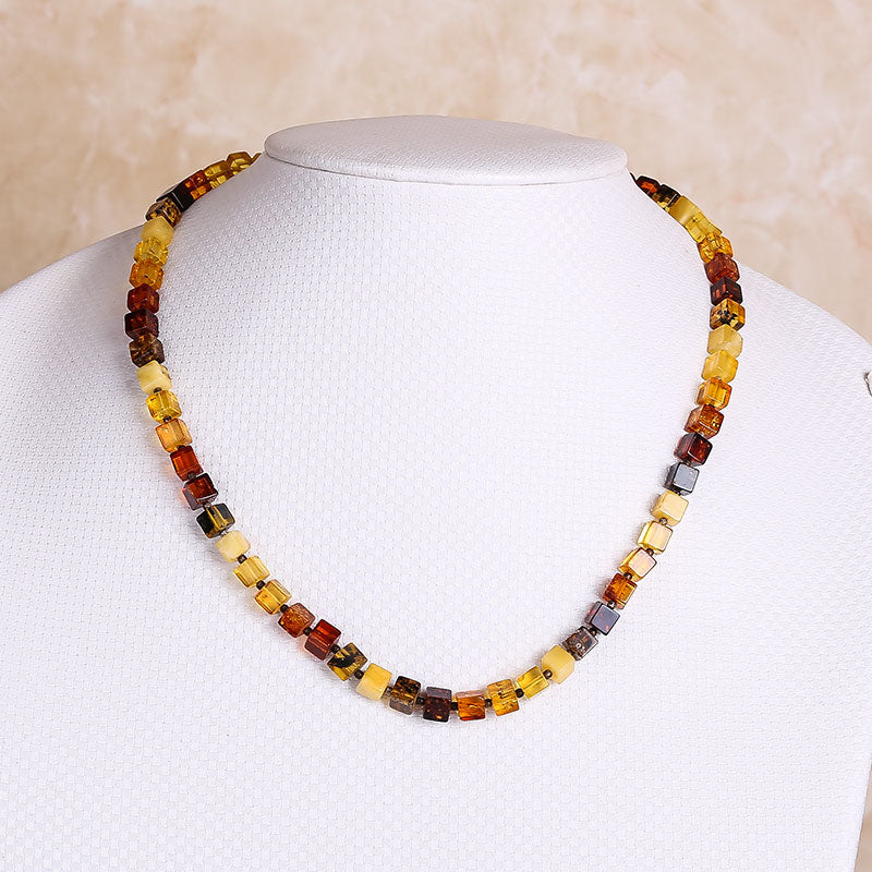 Sale Amber Legend Polish natural amber multi treasure abacus beads necklace multi-function models