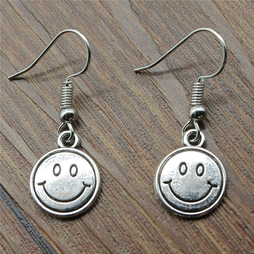 Smile Face Drop Earrings Fashion Smile Face Earrings Danging Smile Face Earrings For Women Dropshipping