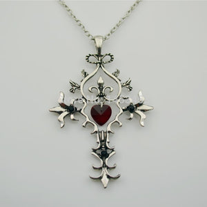 Vampire diforaries cross necklace fashion vintage accessories
