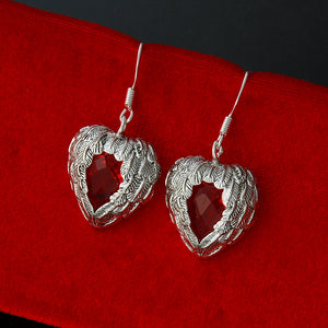 Wholesale fashion jewelry ,925 Silver earrings . Nice Jewelry. good quality FE0094
