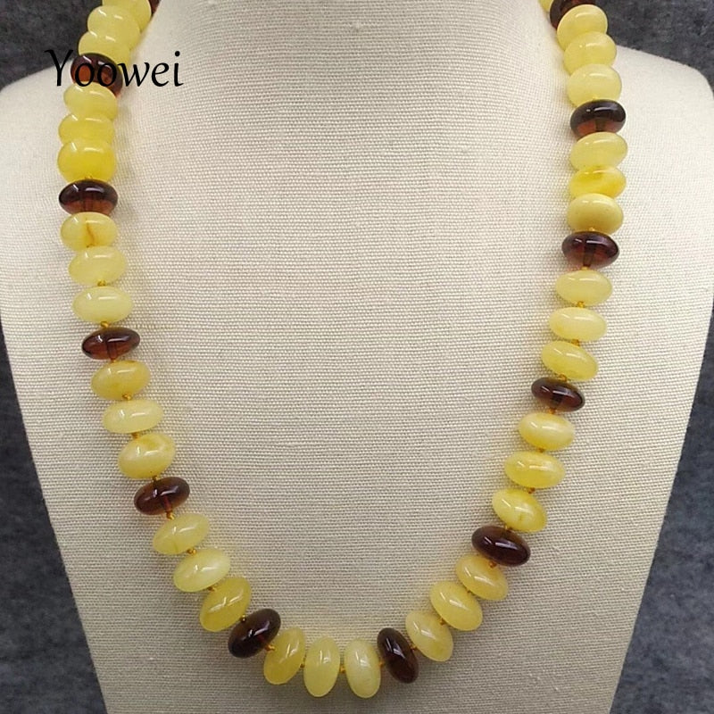48cm 30g Natural Amber Necklace for Women Mama Gorgeous Anniversary Gift Certified Baltic Genuine Amber Jewelry Wholesale