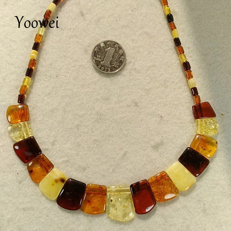 Brand New Baltic Amber Necklace for Women Genuine Natural Gems Jewelry Amber Adult Gift Original Amber Necklace Wholesale