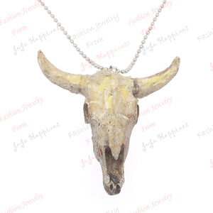 one piece viantage resin sheepshead charm round beads metal chains popular necklace xy251