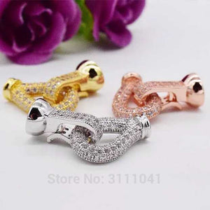 unique shape clasp hook 25mm for jewelry DIY necklace wholesale beads nature woman 2017