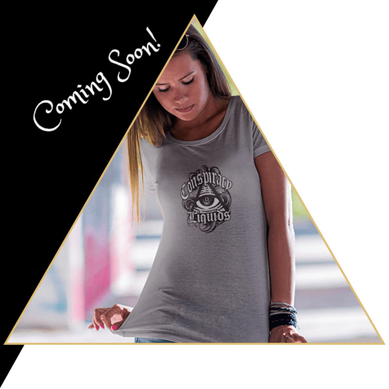 Conspiracy T-Shirt - Coming Soon - - Conspiracy Liquids