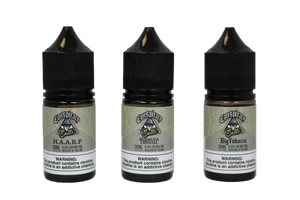 Conspiracy Salts- Big Tobacco - Salt Nicotine - Sweet Tobacco E-Liquid - Conspiracy Liquids