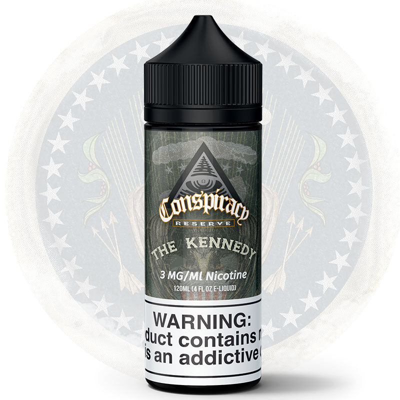 Conspiracy Reserve - The Kennedy - By Conspiracy Liquids - Vanilla Cookie Premium E-Liquid - Conspiracy Liquids
