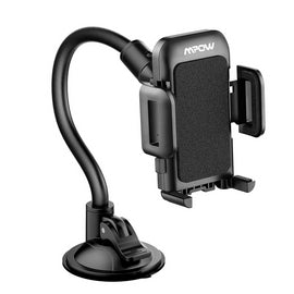 Long Arm Car Phone Holder with Easy Touch & Anti-skid Base