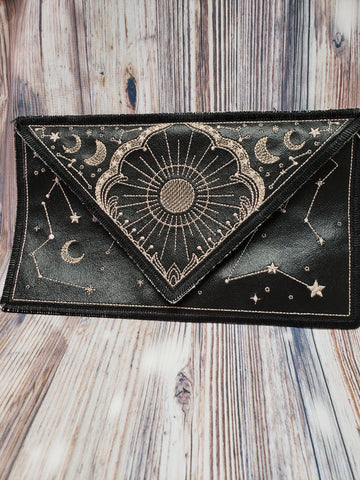 Celestial Envelope Clutch