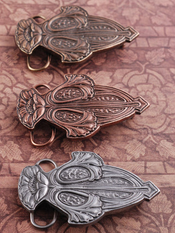 Art Nouveau Belt Buckle