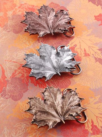 Maple Leaf Belt Buckle