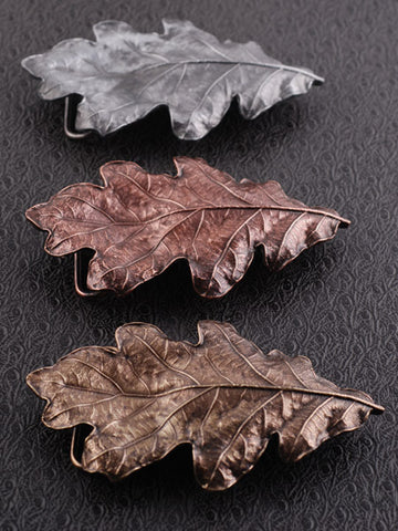 Oak Leaf Belt Buckle