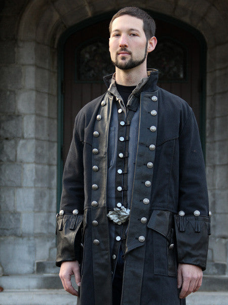 Black Pirate Coat