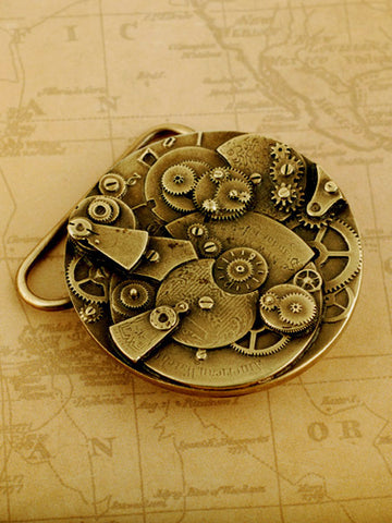 Steampunk Belt Buckle