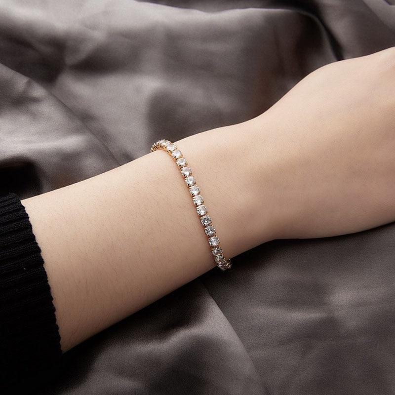 Elegant Bangle Tennis Bracelet