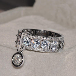 Cluster Band Ring