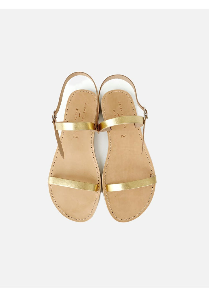 GREEK SANDALS LEV GOLD