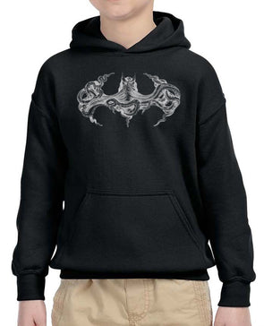 Youth Boys | Octopus Batman | Hoodie